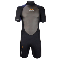 Sola Fusion mens 3mm Shortie Wetsuit - Black