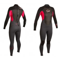 Gul Ladies Response 3/2mm Full Wetsuit - Graphite / Magenta