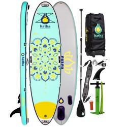 "Hatha Aura 10'4"" Yoga  and Lifestyle Inflatable Paddle Board (ISUP)"