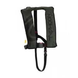 Typhoon Hydro Automatic 150N Lifejacket - Green/Black