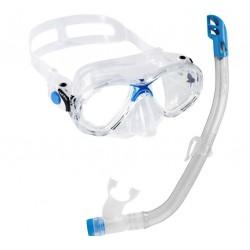 Cressi Marea Childs Mask & Snorkel Set  - Blue