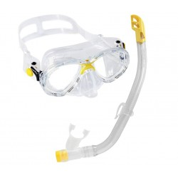 Cressi Marea Childs Mask & Snorkel Set  - Yellow
