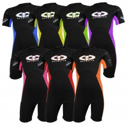 Childs TWF 3mm CIC Titanium Shortie Wetsuit