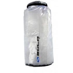 Sola 15L Waterproof Dry Bag - blue logo