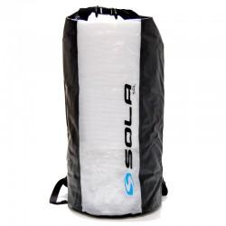 Sola 50L Waterproof Dry Back Pack - Blue Logo