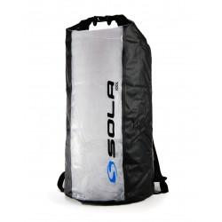 Sola 100L Waterproof Dry Back Pack -  Blue Logo