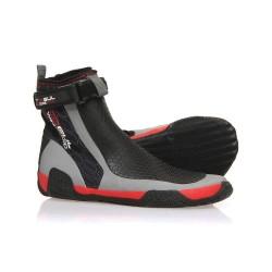Gul CZ Windward 5mm Neoprene Zipped Wetsuit Boots - Black/Red