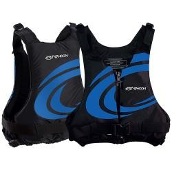 Typhoon Yalu Wave Adult 50n Buoyancy Jacket  - Black/Blue