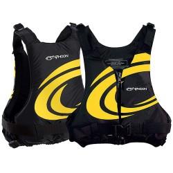 Typhoon Yalu Wave Adult 50n Buoyancy Jacket  - Black/Yellow