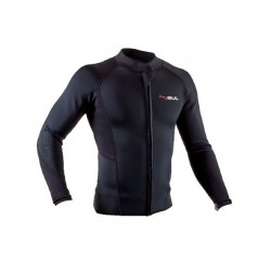 Gul Response Mens 3mm Neoprene Flatlocked Wetsuit Jacket - Black