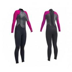 Neptune Childs Junior 3/2mm Full Wetsuit - Pink/Black