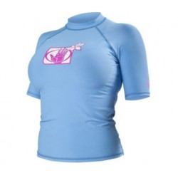 Body Glove Ladies 6oz SS Rash Vest -  choice of colours