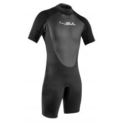 Gul Mens Response 3/2mm T2 FL Shortie Wetsuit - Black