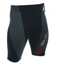 Gul Response 2mm D-Flex Neoprene Shorts - Black/Charcoal