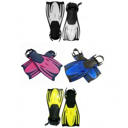 Typhoon Junior Tjet Fins - blue, silver, yellow or pink