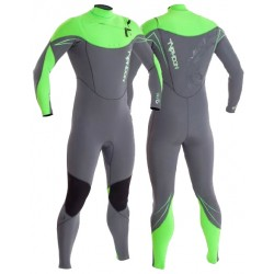 Typhoon TX2 OFZ Chest Zip Mens 3mm GBS Full Wetsuit