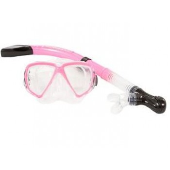 Typhoon Adult Silicone Mask & Snorkel - Pink