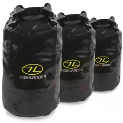Highlander Tri-Laminate Dry Bag 3 sizes - Black