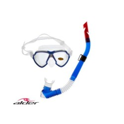 Alder Advance Pro Silicone Mask & Snorkel Set