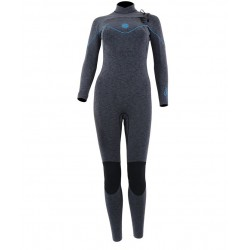 Alder Torch Storm Ladies 4/3 Chest Zip Full Wetsuit