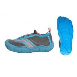 Gul Childs & Adults GForce 'Feet' Aqua Shoes Blue/Coral