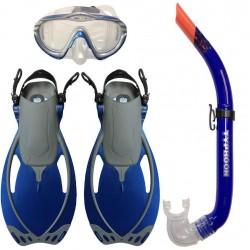 Body Glove Child's Lucent Mask, Snorkel & Expanse Fins Set