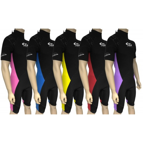 6321e3a011c6 Childs TWF 3mm CIC Titanium Shortie Wetsuit