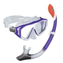 US Divers Diva LX Silicone Mask & Pivot Dry Top Snorkel set