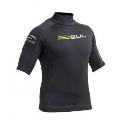 Gul Mens Evotherm Thermal Rash Vest - yellow/silver logo