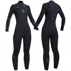 Gul Ladies FX Response CZ 5/4mm BS Full Wetsuit