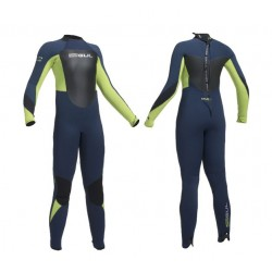 Gul Childs 5/3mm Response Blindstitch Steamer Wetsuit - Navy Lime