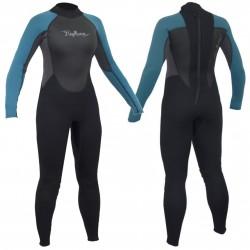 Gul Ladies Neptune 3/2mm Full Wetsuit - Teal