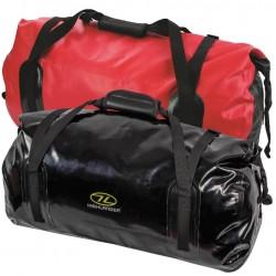 Highlander Mallaig 35L Waterproof Duffel Holdall Red or Black