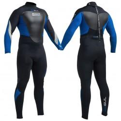 Gul Mens Response 5/3mm Wetsuit Black/Blue