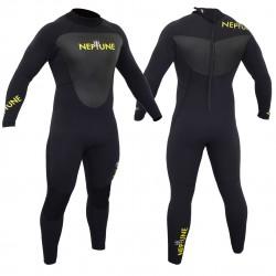 Gul Mens Neptune 5/3mm Wetsuit Black/Yellow