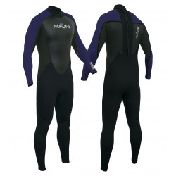 Gul Childs Neptune 3/2mm Full Wetsuit - Blue/Black