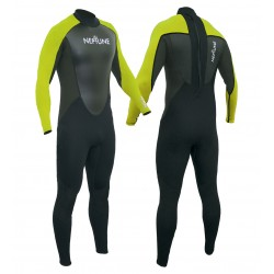 Gul Childs Neptune 3/2mm Full Wetsuit - Citron/Black