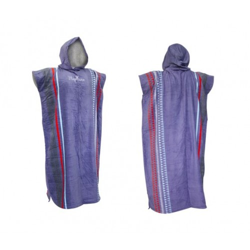 Gul Adult Hooded Changing Robe Poncho Aztec Mauve
