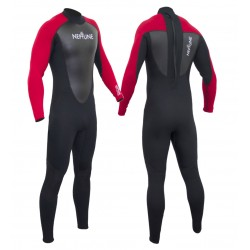 Gul Childs Neptune 3/2mm Full Wetsuit - Red/Black