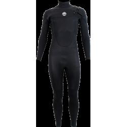 Alder Pyro Chest Zip Mens 4.3 Wetsuit - Black
