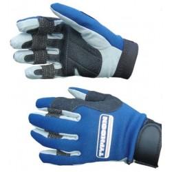 Typhoon Race 1 Neoprene Amara Sailing Gloves - Blue