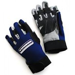 Typhoon Race 2 Neoprene Amara Sailing Gloves - Blue