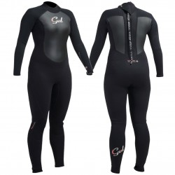 Gul Ladies Response 3/2mm Full Wetsuit - Black