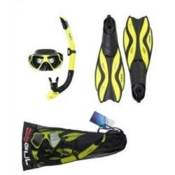 Gul Tarpon Adult Adult Mask, Snorkel & Fins Set