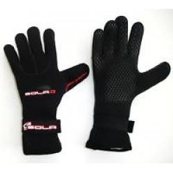 Sola 3mm Titanium DL Gloves