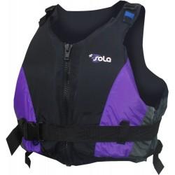 Sola Girls & Ladies Mulberry/Black Control 50n Buoyancy Jacket