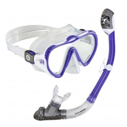 US Divers Starlett LX Silicone Mask & Dry Top Snorkel set
