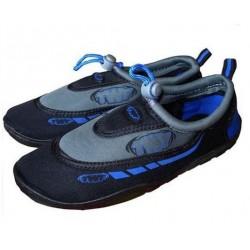 TWF Adult Graphic /Weever Aqua Beach Shoes - Dark Blue
