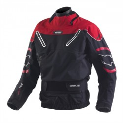 Yak Zero Waterproof Dry Cag - Black/Red