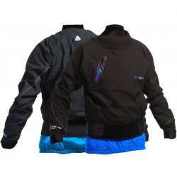 Gul Yampa Waterproof Breathable Dry Cag -  Black/Blue Aster